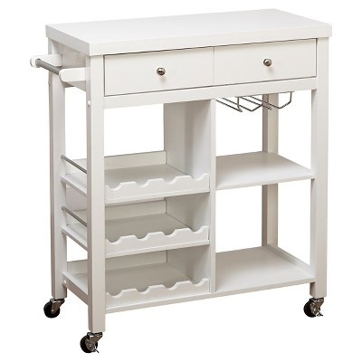 Colwood Wine Cart White - TMS