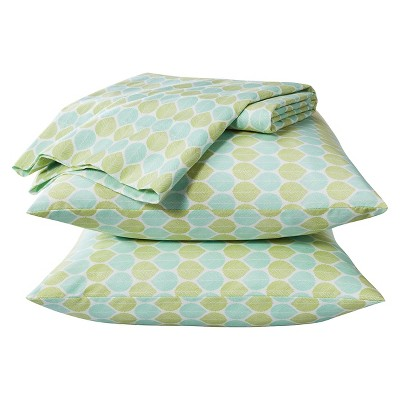 Easy Care Q Sheet Set - Mint Leaf -Room Essentials™