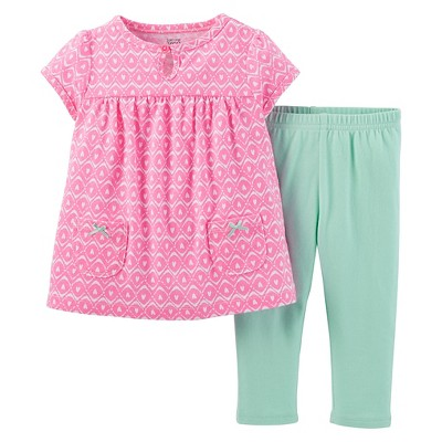 Just One You™Made by Carter's® Girls' Heart Print 2 Piece Set 3 M