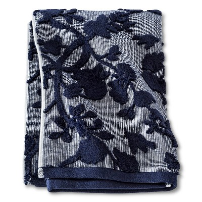 Bath Towel Navy Floral - Threshold™