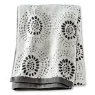 Threshold™ Geo Bath Towel - Gray