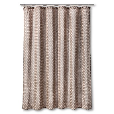 Threshold Shower Curtain Twined Lattice