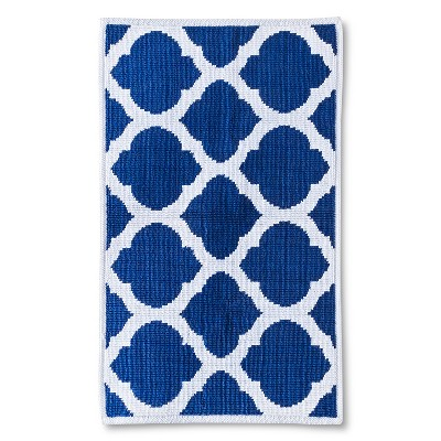 Rug Blue White Geo - Threshold™