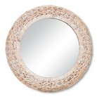 Threshold™ Wicker Whitewash Mirror