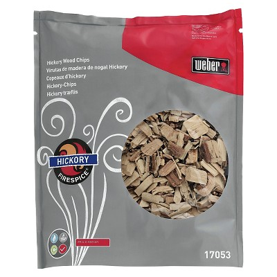 Weber Hickory Wood Chips 3lb