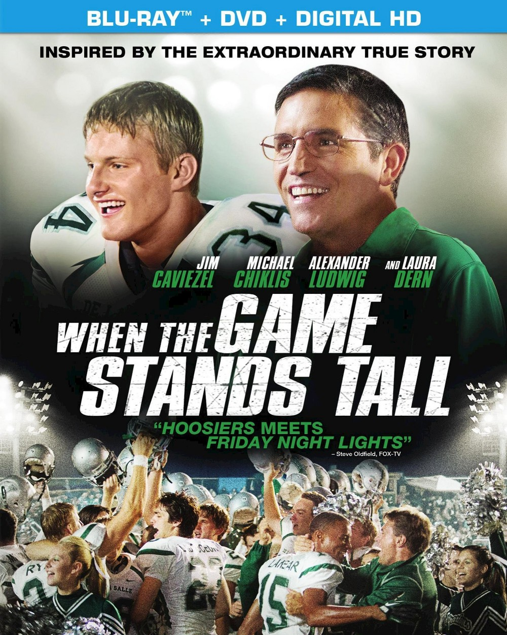 When the Game Stands Tall (2 Discs) (Includes Digital Copy) (UltraViolet) (Blu-ray/Dvd)