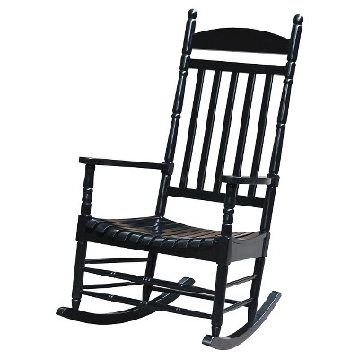 International Concept Patio Rocking Chair - Black