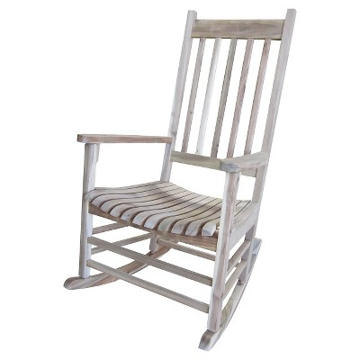International Concept Patio Rocking Chair - Unfinished