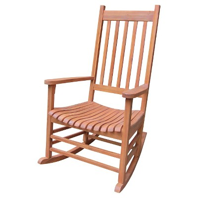 International Concept Patio Rocking Chair - Brown