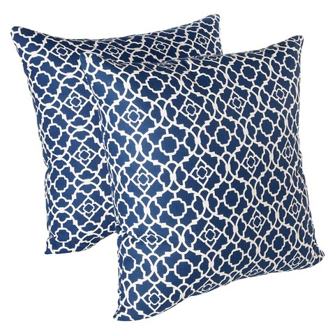 Waverly Decorative Throw Pillows : Waverly Lovely Lattice 2 Pack Decorative Pillows : Target