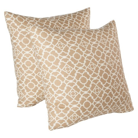 Waverly Decorative Throw Pillows : Waverly Lovely Lattice 2 Pack Decorative Pillows