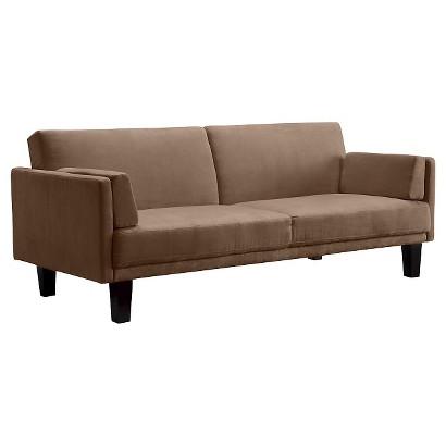 Metro Futon Sofa Bed Tan Target