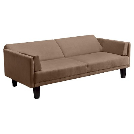 Metro Futon Sofa Bed Tan Dorel Home Products Target