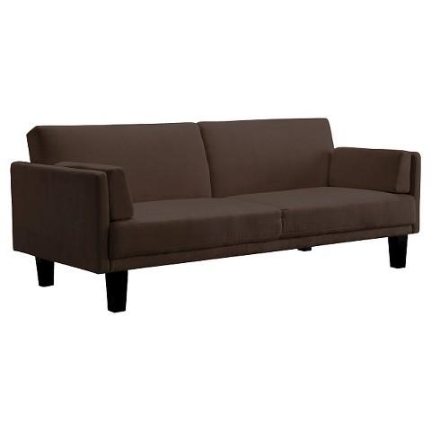 Metro Futon Sofa Bed Brown Tar
