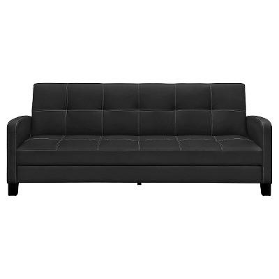 Delaney Sofa Sleeper Black - Dorel Home Products