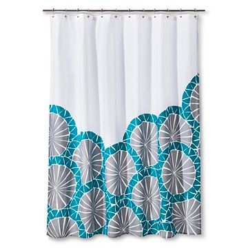 Turquoise Shower Curtain Target