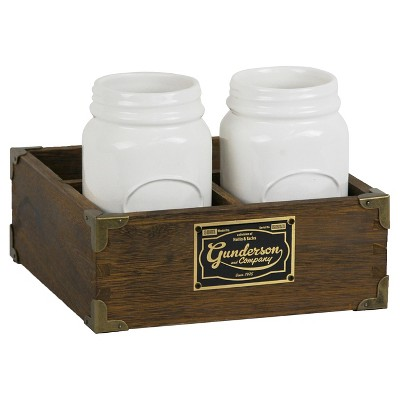 Threshold™ Desktop Storage Unit with Jars