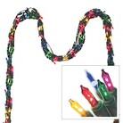 String Lights Of Garland - Multicolored (600 Count)