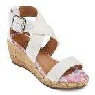 Girl's Cherokee® Freja Gladiator Wedge Sandals - White