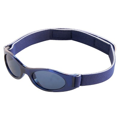 Toddler Boys' Sunglasses with Strap - Navy