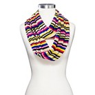 Women's Chevron Striped Infinity Scarf