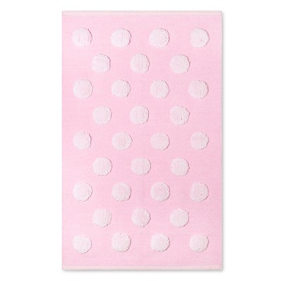 "Circo™ Woven Chenille Accent Rug - Pink Dot - 30"" x 50"""