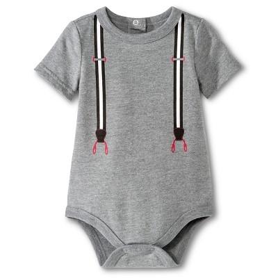 Newborn Boys' Bodysuit - Radiant Gray NB