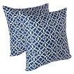 Waverly Lovely Lattice 2 Pack Decorative Pillows
