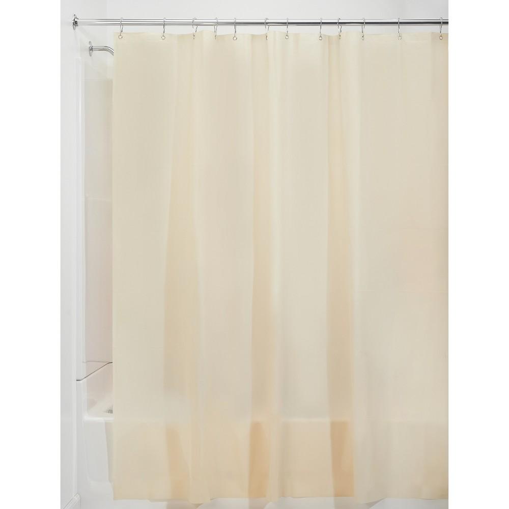 Ecom Shower Liner Interdesign Solid Natural