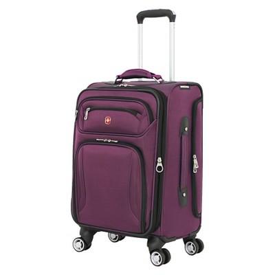 "SwissGear Zurich 20"" Carry On Luggage - Purple"
