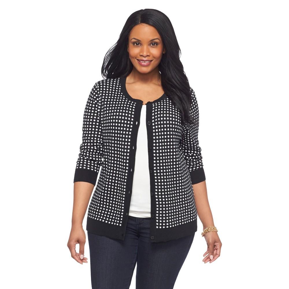 Fall Fashion Trend: Black and White #PlusSize #Fashion