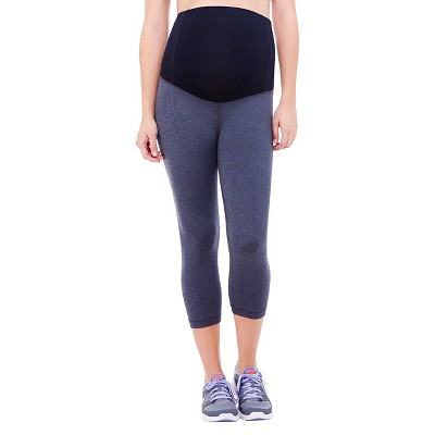 BeMaternity® by Ingrid & Isabel® Active Capri Pant with Crossover Panel XXL