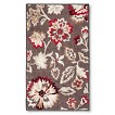 Maples Floral Rug - Gray