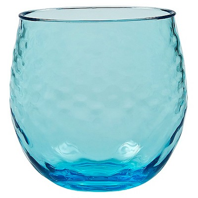 Threshold™ Azura Stemless Wine Tumblers Set of 4 - Aqua
