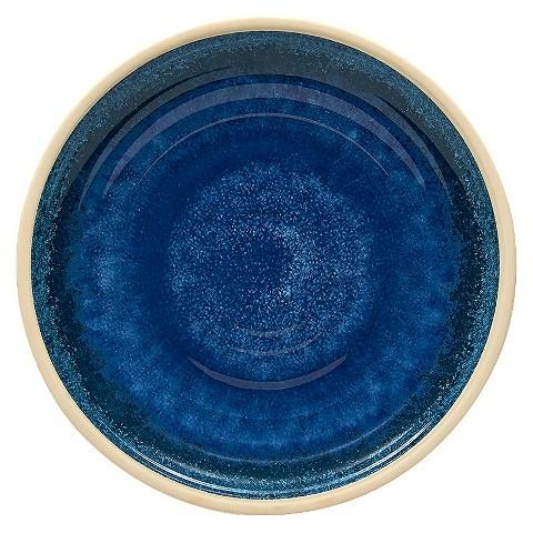 threshold artisan dinner plates set of 4 blue target