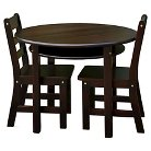 Kids' Round Table and Chair Set - Casual Home