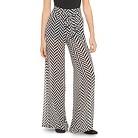Tie Front Illusion Pant Black/White - 3Hearts