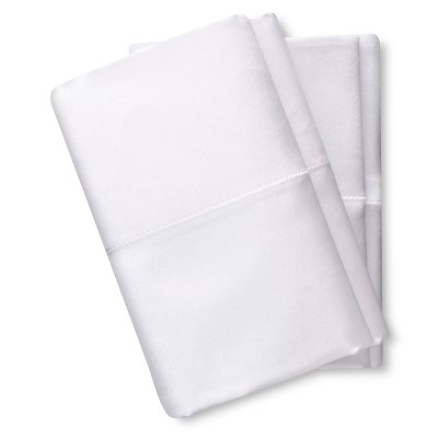 Elite Home Satin Pillowcase 4 Pack - White (King)