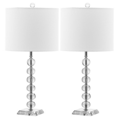 Safavieh Victoria Crystal Ball Lamp (Set of 2)
