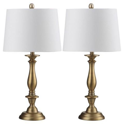 safavieh brighton candlestick table lamp set of 2 target. Black Bedroom Furniture Sets. Home Design Ideas
