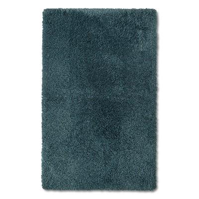 """Bath Rug - Shadow Teal (20x34"""") - Fieldcrest™"""