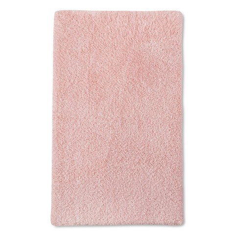 Fieldcrest Luxury Bath Rug Pale Pink 20x34 Target