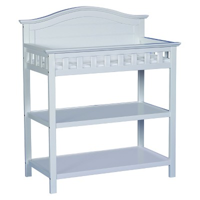 Thomasville Kids Southern Dunes Changing Table with Pad - White