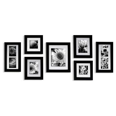 7 Piece Frame Set - Black