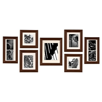 7 Piece Frame Set - Walnut