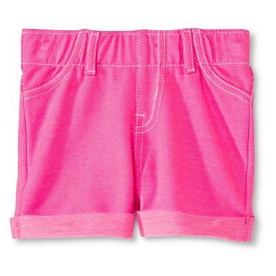 Toddler Girls' Lounge Short - Sunglow Pink 12 M