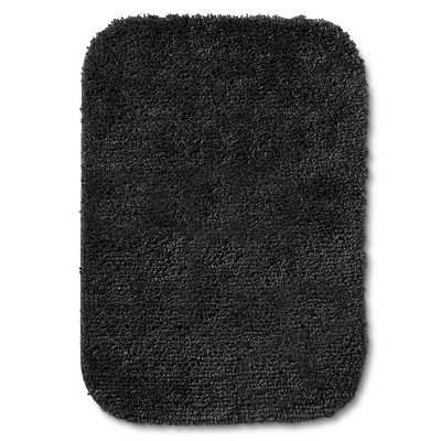 "Room Essentials™ Bath Mat - Ebony (17x24"")"