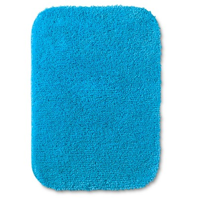 "Room Essentials™ Bath Mat - Dark Sky Blue (17x24"")"