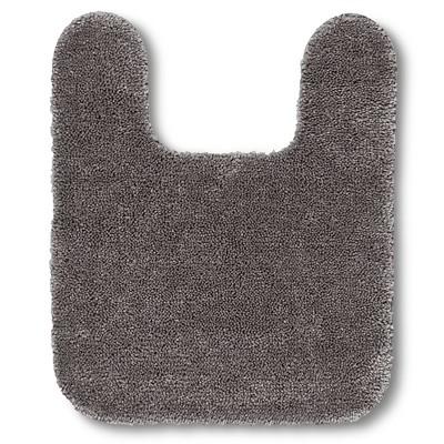 "Room Essentials™ Contour Bath Rug - Flat Gray (20x24"")"