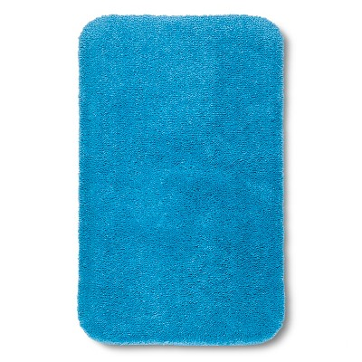 "Room Essentials™ Bath Rug - Dark Sky Blue (20x34"")"